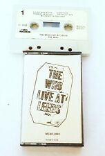 The Who – Live At Leeds Cassette Tape 1973 MCAC 3023