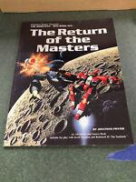 The Return of the Masters    Robotech RPG Book Six  Palladium Books