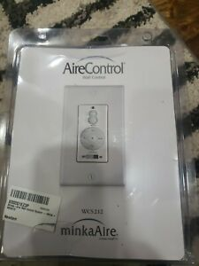 Minka Aire Fan Wall Remote Control WCS212 3Speed Reverse Full Range Light Dimmer