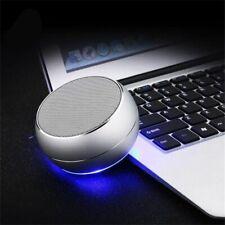 Mini Bluetooth Subwoofer Speaker Metal Loudspeaker Wireless 3D Music Sound Box
