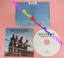 CD WESTLIFE Greatest Hits 2011 Europe RCA 88697928422 no lp mc dvd (CS16)