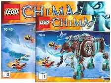 Lego New Instruction Manuel only for Set 70145 Maula's Ice Mammoth Stomper
