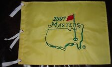 2007 MASTERS AUGUSTA NATIONAL PIN GOLF FLAG BRAND NEW PACKAGE GREAT 4 AUTOGRAPHS