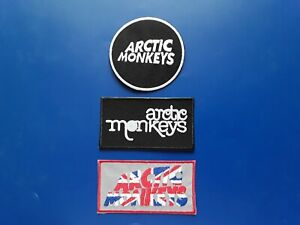 Arctic Monkeys Patches Set of Three