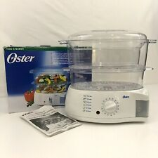 Oster Food Steamer 2-Tier Food Steamer Rice Cooker Vegetable #5711
