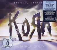 """KORN """"THE PATH OF TOTALITY""""  CD+DVD NEW!"""