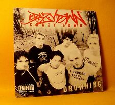 Cardsleeve Single CD Crazy Town Drowning 2TR 2002 Rock Nu Metal RARE !
