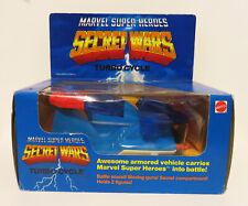 Vintage Marvel Secret Wars Captain America TURBO CYCLE Vehicle MIB Avengers Rare