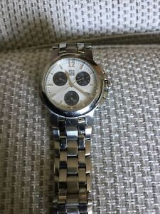 MENS ESQ by MOVADO E5262 SWISS Chronograph Stainless Steel Gents Date Watch