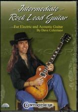 Intermediate Rock Lead Guitar Dave Celentano Tuition DVD Learn How To Play