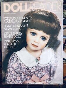 Mint Sealed August 1993  Doll Reader Magazine Shirley Temple, Alice Leverett