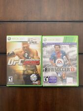 Ufc undisputed 2010 and Fifa 2013 bundle Xbox 360