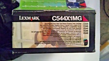 Lexmark Cartridge C544X1MG Magenta Toner Cartridge Open Box CANADA FREE SHIP