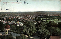 Wiesbaden Hessen AK 1906 Blick vom Nerobergturm Neroberg alte color Postkarte