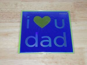 Papyrus Greeting Card Father's Day I love U Dad 01026818 You're The Best