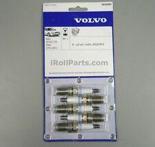 OEM Volvo Spark Plugs Set 5 Cyinder Non-Turbo Engines Multiple Vehicles 8642660