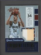 2016-17 Panini Absolute Frequent Flyers Giannis Antetokounmpo Patch 6/10