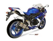 Scarico MIVV Suzuki Gsx-R 600 Anno Bj.08-10 ( SUONO,Acciaio Inox/Carbon-Cap,Moto