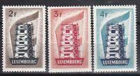PROMO LUXEMBOURG EUROPA 1956 YT 514 515 516 N** COTE 600€ à 7% DE LA COTE