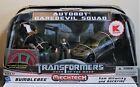 Transformers DOTM Human Alliance BUMBLEBEE + BACKFIRE Daredevil Squad, MISB/New