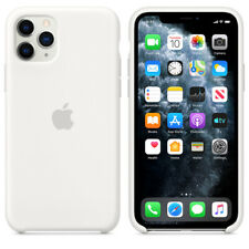 For Apple Iphone 11 Pro Genuine White Silicone Case Official Covers Skins