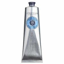 L'occitane Shea Butter Hand Cream 150ml NIB 100% Authentic + Samples
