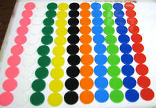 100 Round Maths Games Counters 10 Colours Sorting Counting Games