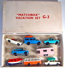 "Matchbox G-3 ""Vacation Set"" 1966 Giftset rare weiße Versandbox ( USA )"