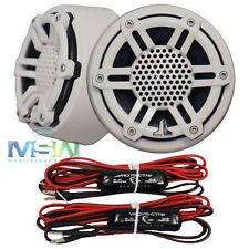 "NEW JL AUDIO® M100-CT-SG-WH 1"" MARINE BOAT SILK TWEETERS w/ WHITE SPORT GRILLES"