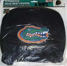 NCAA NWT HEAD REST COVERS -SET OF 2- FLORIDA GATORS
