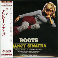NANCY SINATRA-BOOTS-JAPAN MINI LP CD BONUS TRACK C94