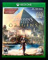 ASSASSIN'S CREED ORIGINS - XBOX ONE X w/ BONUS PRE-ORDER DLC MISSION