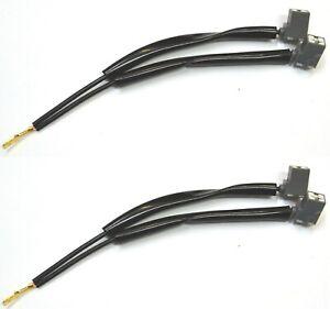 Splitter Wire Ceramic A H3 Two Harness Fog Light Socket Female Male Plug Replace