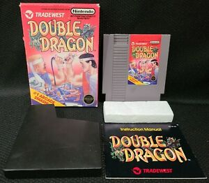 Double Dragon Authentic Game Complete with Box & Manual for Nintendo NES