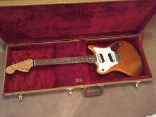 MINT 2012 FENDER PAWN SHOP SUPER SONIC ELECTRIC GUITAR SUNFIRE ORANGE FLAKE HSC