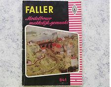 Faller  --  Modellbau Magazin 841, Sprache niederländisch