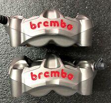 2 Brembo M50 Monoblock Radial Bremszangen Ducati Panigale 1299 V4 Aprilia RSV4 R