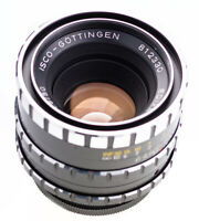 M42 Isco Göttingen Edixa Westromat 50 mm f 1,9 Zebra  SN:812330  Prime Lens Top