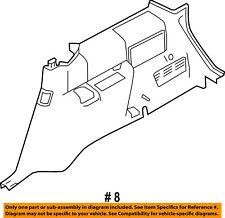 FORD OEM 2012 Flex INTERIOR-Lower Quarter Trim Right CA8Z7431112AB