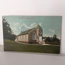 Freeport Long Island NY FIRST BAPTIST Church c1913 Postcard