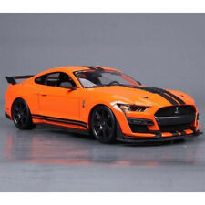 2020 FORD MUSTANG SHELBY GT500 ORANGE 1:18 DIECAST MODEL CAR BY MAISTO 31388