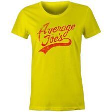 Average Joes Gymnasium Logo DODGEBALL Womens T-shirt Joe's Gym Team Joes Funny U