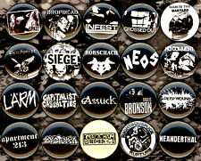Power Violence x 20 button pin badge infest neos larm dropdead spazz grind