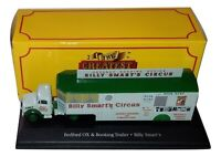 Atlas Circo Billy Smart Bedford OX Booking Trailer 1/76 Ref.103