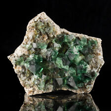 "4.5"" GlassSmooth XtraGemmy FLUORITE Blue Green Crystals Rogerly Mine UK for sale"