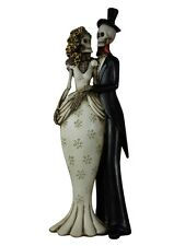 'Til Death Do Us Part Gothic Skeleton Wedding Ornament