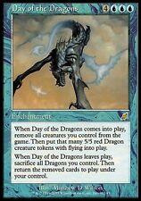 kaartspellen Verzamelingen 4 Day of the Dragons Blue Scourge Mtg Magic Rare 4x x4