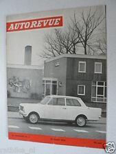 AUTOREVUE 1964-06,AUSTIN HEALY SPRITE,MG,VAUXHALL VIVA,FIAT 1300 ADD,PIJLENRIT D