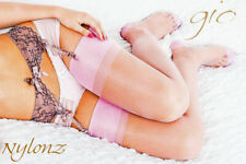 GIO RHT Stockings / Nylons - PINK - imperfects NYLONZ