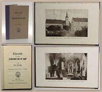 Buchholz Chronik der Gemeinde Seiffersdorf Heyde um 1920 Sachsen Geschichte xz